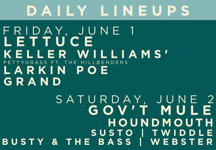 DAILY LINEUP SLIDER