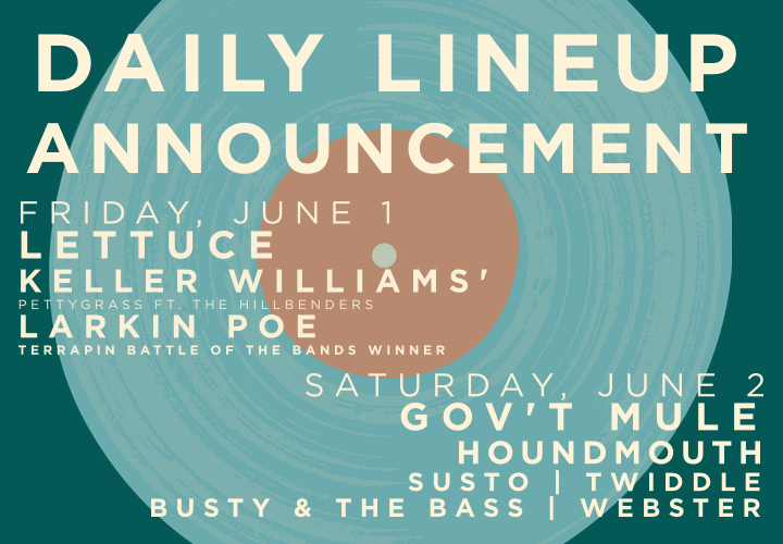 slider - daily lineup