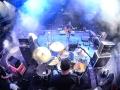 Railroad Earth drummer view