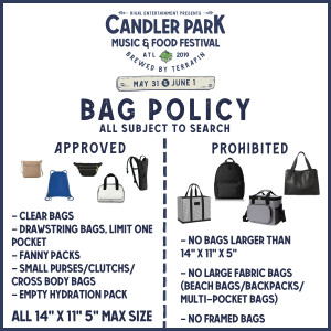 Candler 2019-Bag Policy