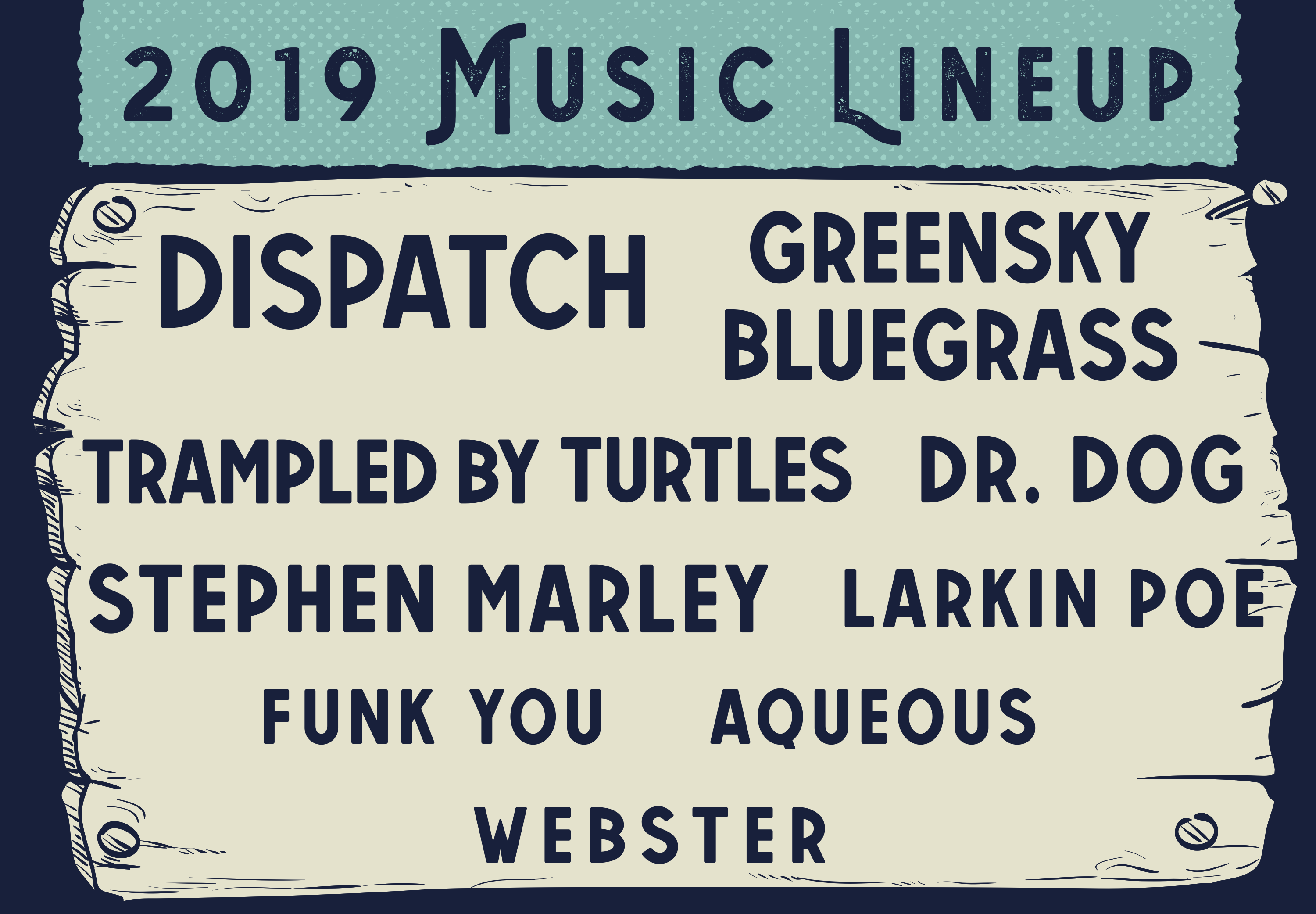 lineup announce slider